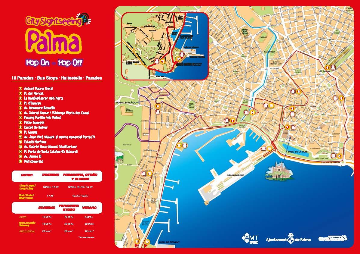 London Bus Tour Map