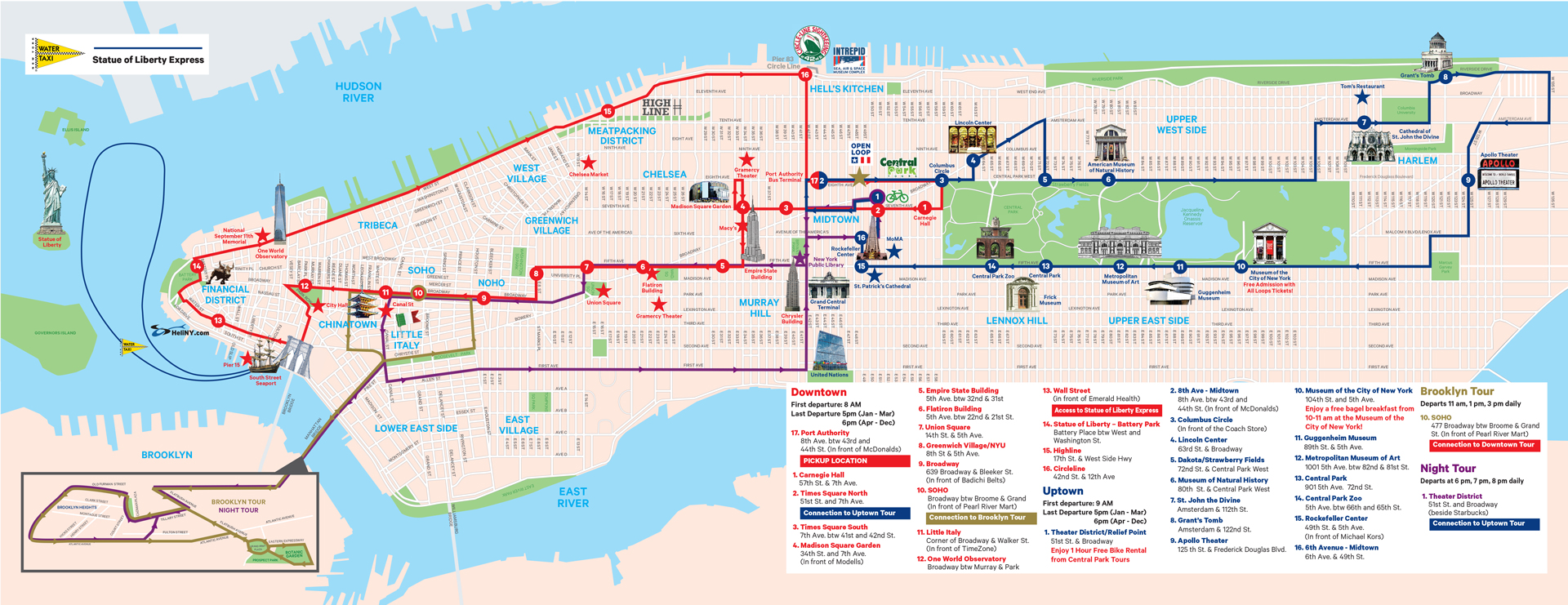 new york sightseeing tour cruise simple order groundline nyc sightseeing map